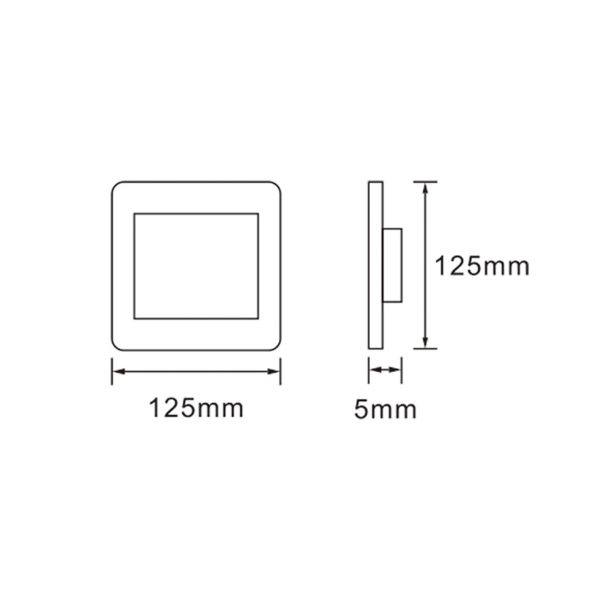 Saver Series: 4X4 Blank Cover